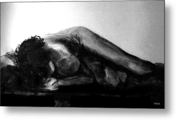 Nude As Landscape Metal Print