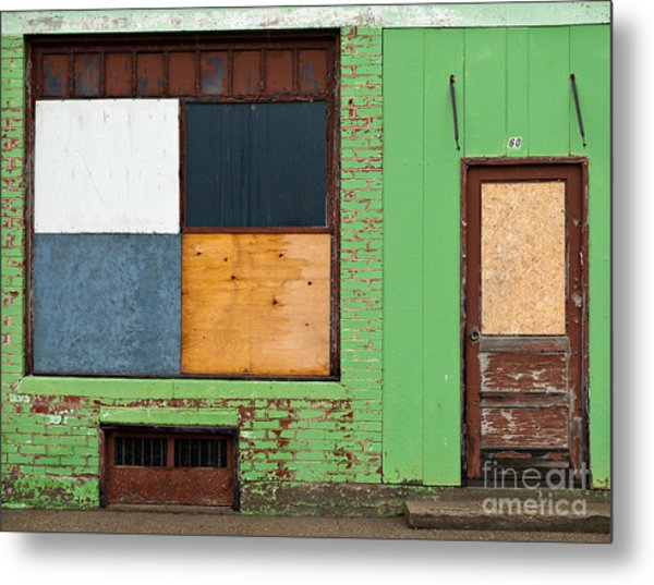 Number 60 In The Rain Metal Print by Royce Howland