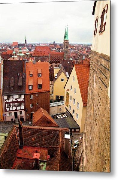 Nuremberg Cityscape Metal Print