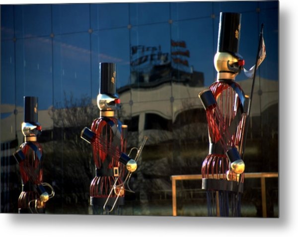 Nutcracker Soldiers 2 Metal Print by Steve Ohlsen