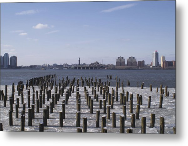 New York City Piers  Metal Print