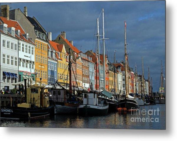 Nyhavn Copenhagen Denmark Metal Print