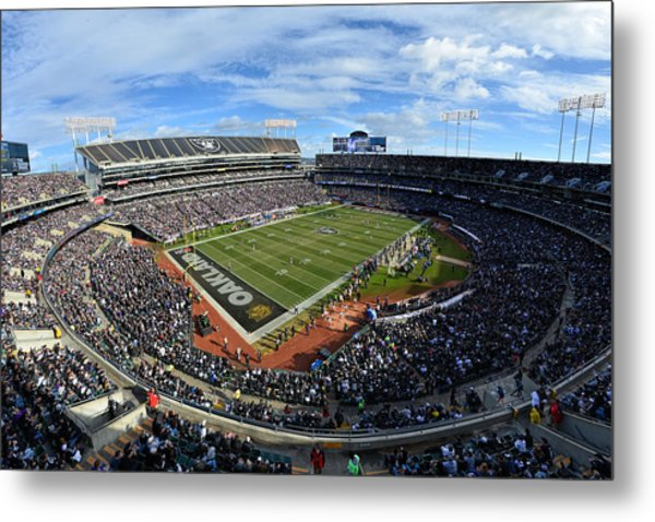Oakland Raiders O.co Coliseum Metal Print