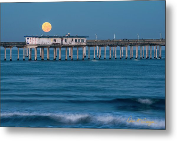 Metal Print featuring the photograph O B Morning by Dan McGeorge