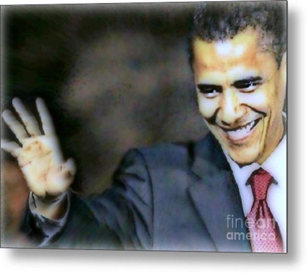 Obama Metal Print