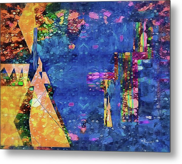 Objective Reality Metal Print