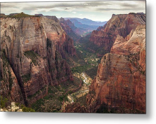 Observation Point - Zion Metal Print