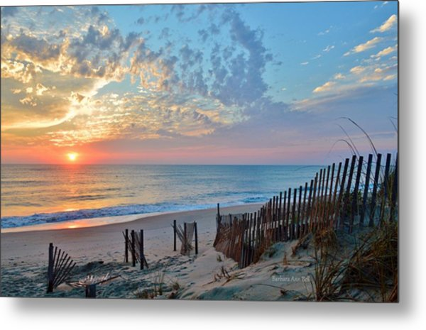 Obx Sunrise September 7 Metal Print