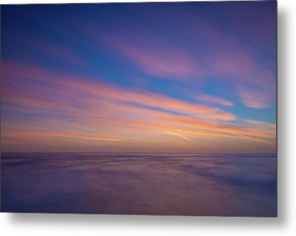 Ocean And Beyond Metal Print
