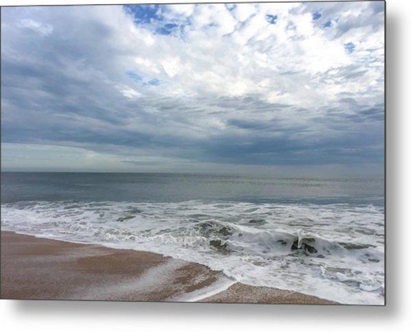 Ocean Blue Metal Print