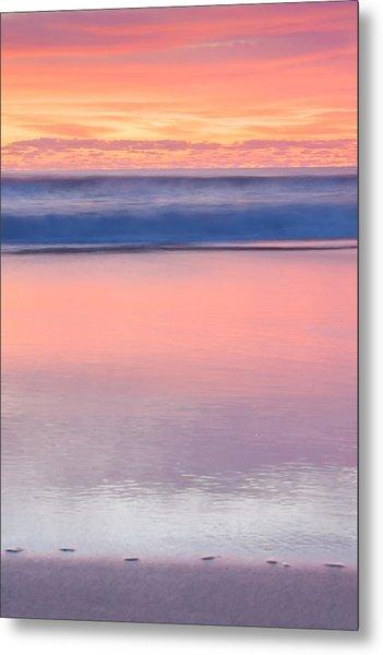 Ocean Glow Metal Print