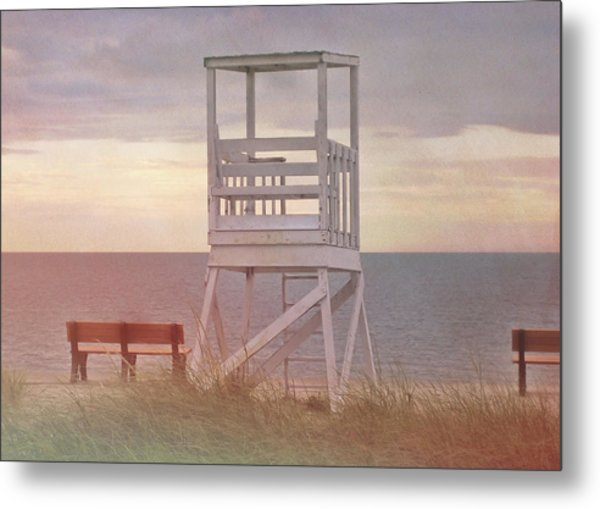Ocean Lookout Metal Print by JAMART Photography