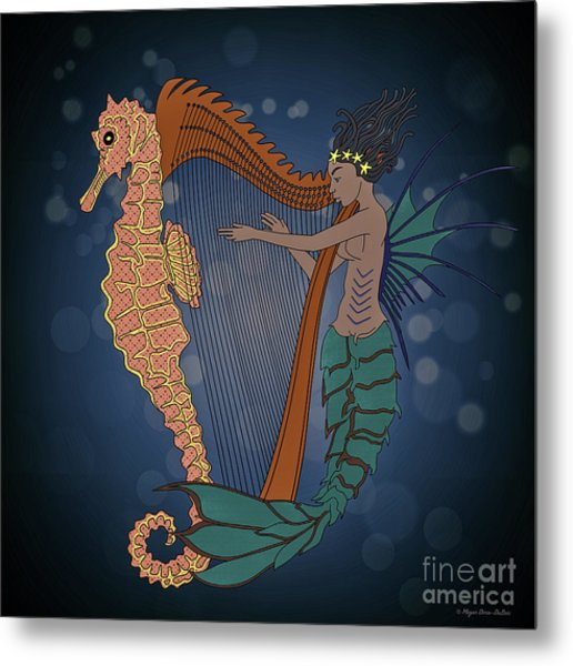 Ocean Lullaby1 Metal Print