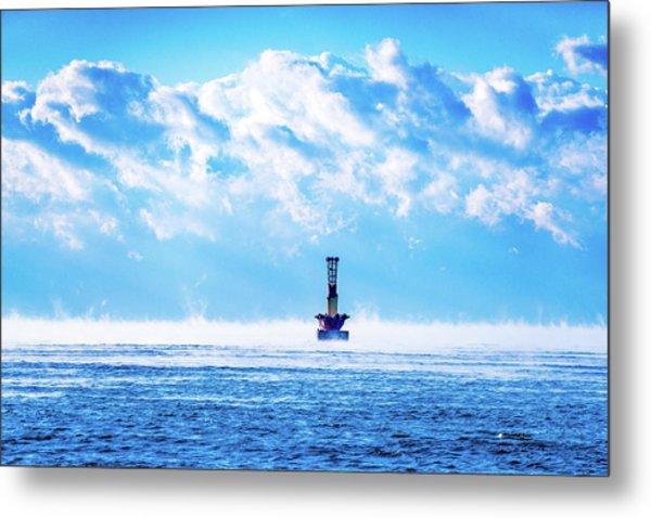 Ocean Mist Metal Print
