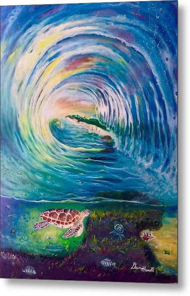 Ocean Reef Beach Metal Print