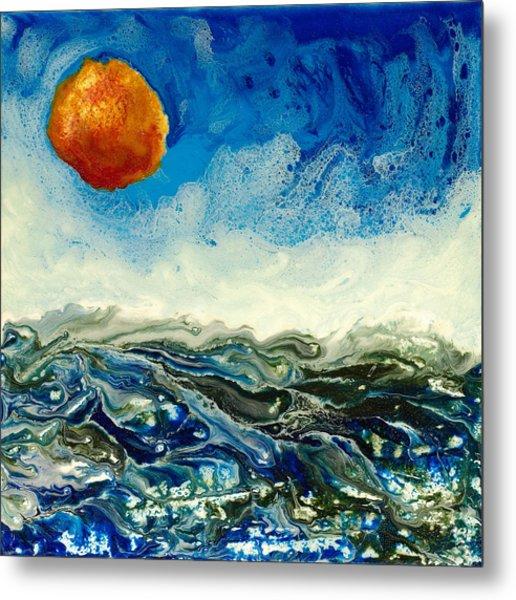 Ocean Run Metal Print by Paul Tokarski