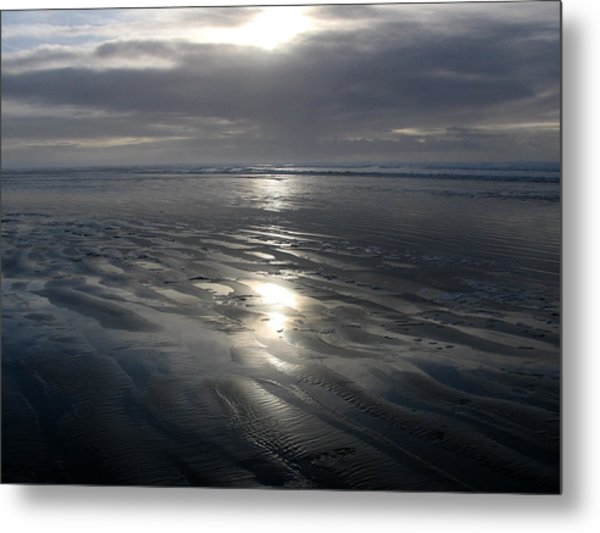 Ocean Shores  Metal Print by Ty Nichols