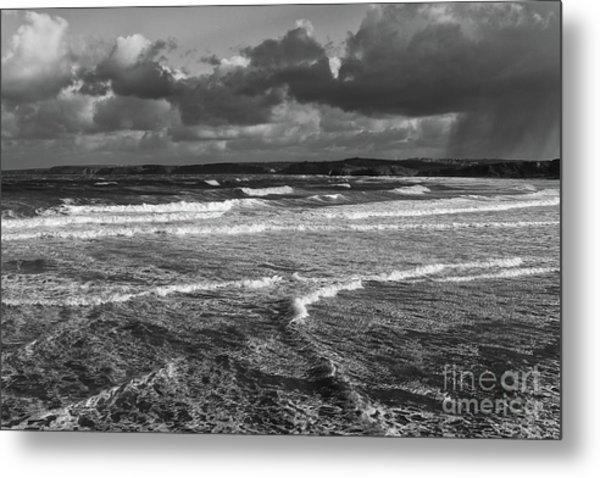 Ocean Storms Metal Print