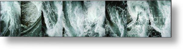 Ocean Waves - Ocean Waves - Ocean Waves.... Metal Print