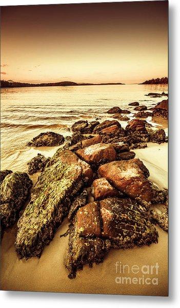 Oceanic Harmony Metal Print