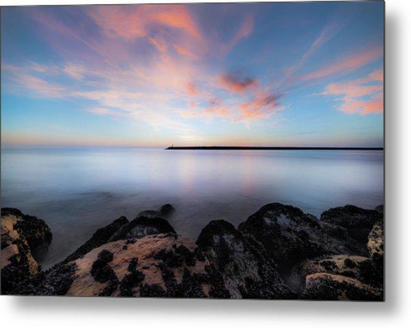 Oceanside Harbor Sunset Metal Print
