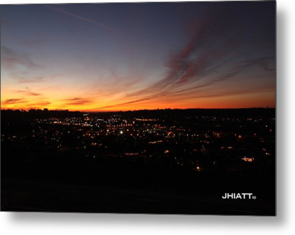Oceanside Valley Metal Print