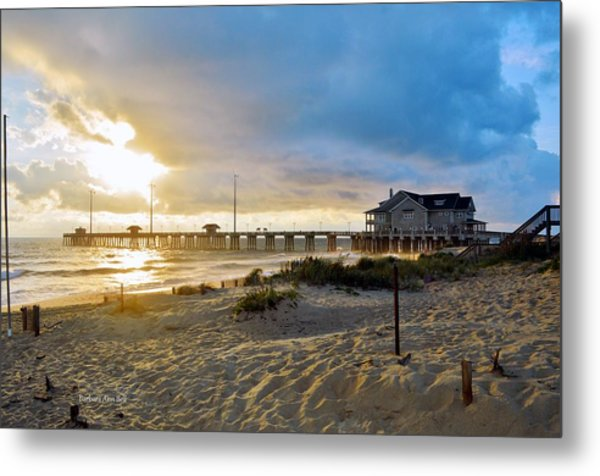 October 3 2016 Obx Sunrise Metal Print