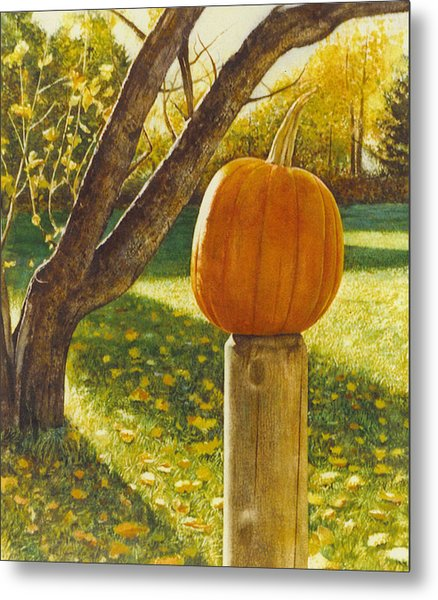 October Afternoon Metal Print