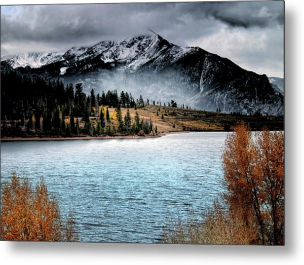 October Morning Metal Print