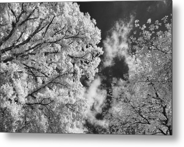 October Sky Ir Metal Print