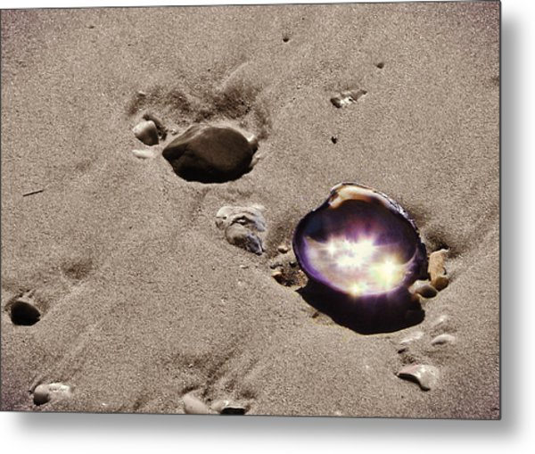 October Sparkling Metal Print by JAMART Photography