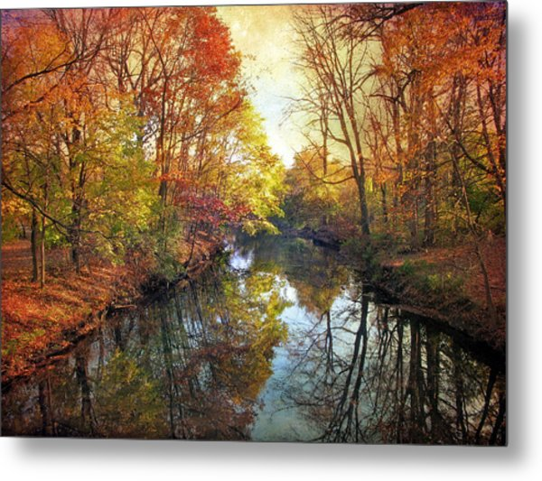 Metal Print featuring the photograph Ode To Autumn by Jessica Jenney