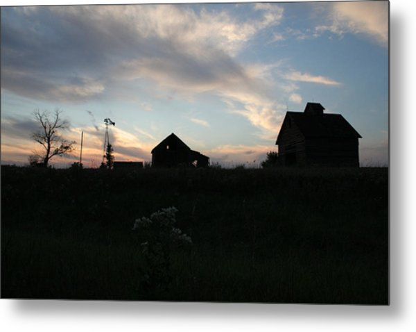 Metal Print featuring the photograph Odell Dusk by Dylan Punke