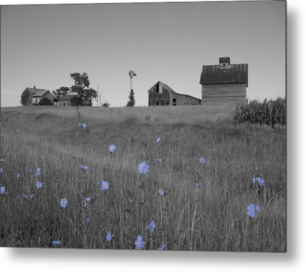 Metal Print featuring the photograph Odell Farm Iv by Dylan Punke