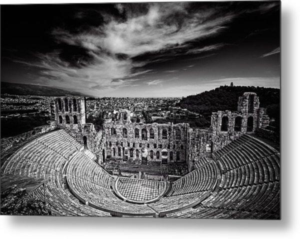 Odeon Of Herodes Atticus Metal Print
