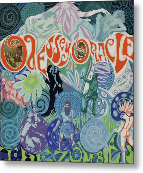 Odessey And Oracle - Album Cover Artwork Metal Print