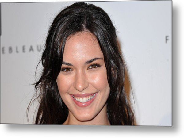 Odette Annable Metal Print