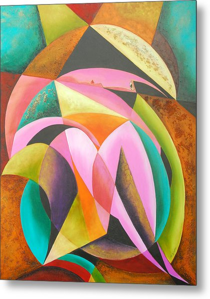 Odyssey Of Colors Metal Print by Marta Giraldo