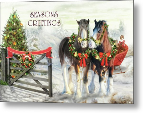 Of Christmas Past  Metal Print