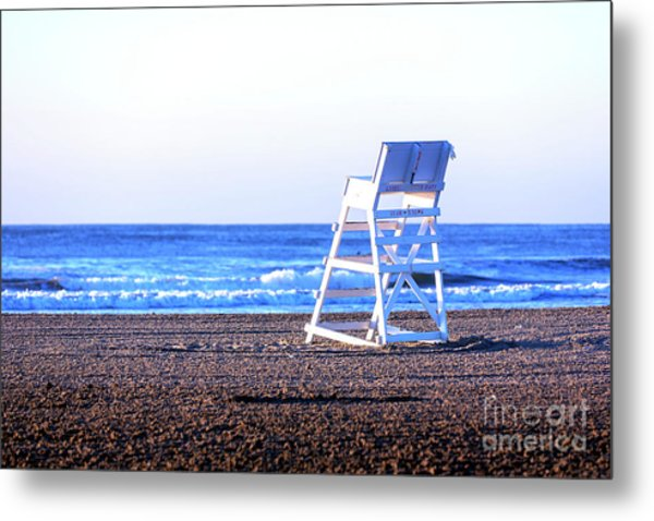 Off Duty At Wildwood Metal Print