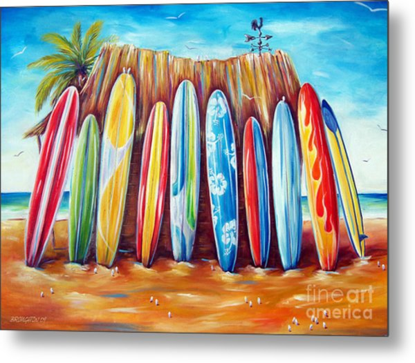Off-shore Metal Print