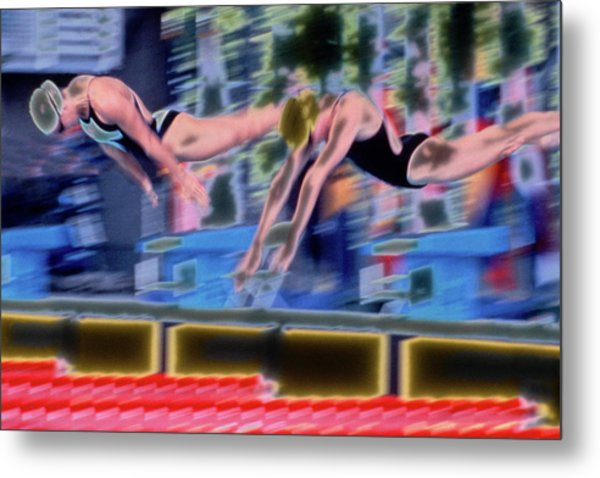 Off The Blocks Metal Print