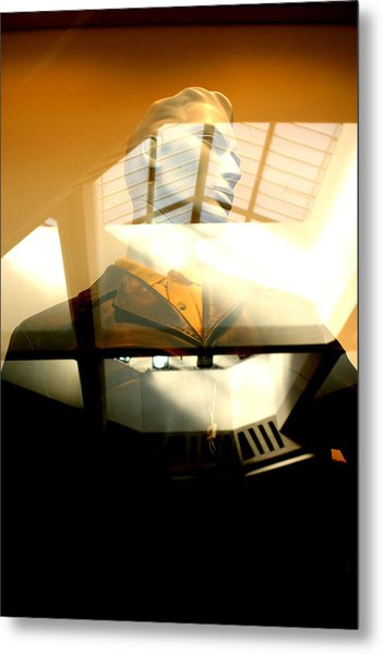 Off Through The Roof Metal Print by Jez C Self