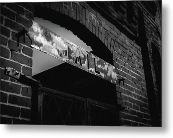 Metal Print featuring the photograph Off To Jail by Doug Camara