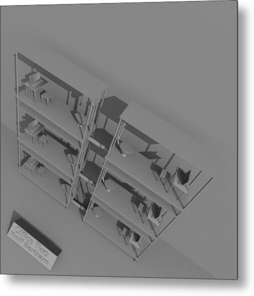 Office Two Metal Print by Rolf Bertram
