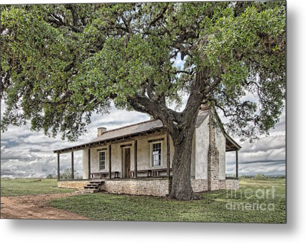 Officer's Quarters Metal Print