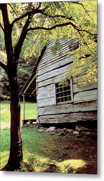 Ogle Cabin Metal Print by Alan Lenk