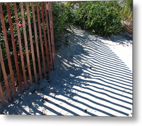 Ogunquit Shadows Metal Print