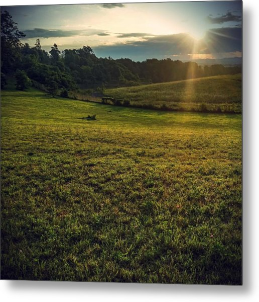 Oh What A Beautiful Morning Metal Print