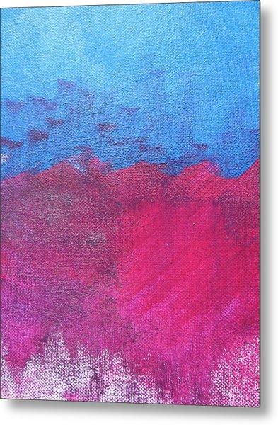 Oil Wave Metal Print by Lindie Racz